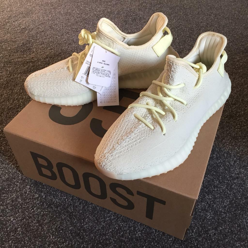 1916276ca51e1 Adidas Yeezy Boost 350 v2 Butter (fit uk 8.5-9)
