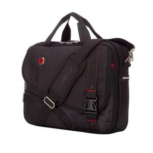 "SwissGear SWA0929 Smart Scan 15.6"" Laptop Briefcase - Black (New Other)"