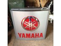 YAMAHA DEALER SIGN RD LC 125 LC 250 LC 350 COULD BE RARE