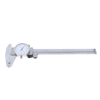 Dial Vernier Caliper 4-way Measurement Gauge Micrometer 0-6 Shock-proof