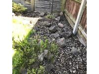 Rockery garden stones - collection from Milton Keynes £2 per stone