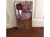 Small Rennie Mackintosh style Mirror £10