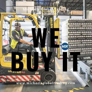 We Buy All Warehouse Racking & Lift Equipment - Michaels Global Trading