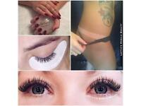 Spray tans // lash extensions // shellac // gel nails // London // semipermanent eyelash extensions