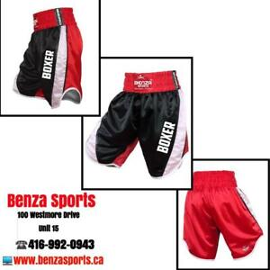 BENZA BOXING SHORTS / BOXING TRUNKS ONLY @ BENZA SPORTS