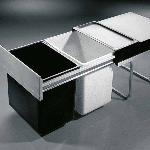 Under Sink Garbage Bins Pull Out Other Kitchen Dining