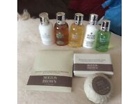8 piece mini molton brown set