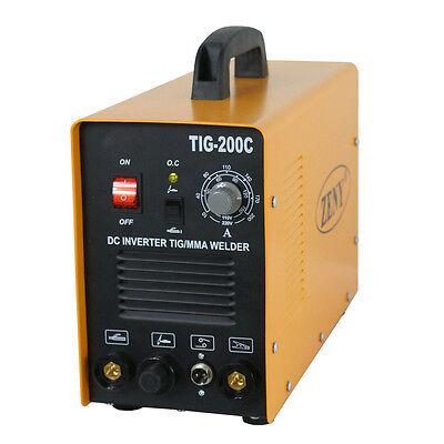 200 Amp Dc Inverter Tig Mma Welding Machine Welder Stainless Carbon Steel 110v