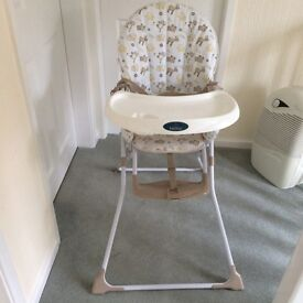 Babystart Highchair. Good Condition. Ideal as a second highchair i.e. for Grandparents.for