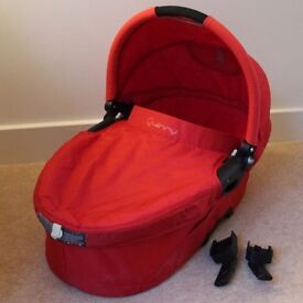 Quinny Buzz 3 | Carrycot | Strawberry Red | Sold Without the Pram Base