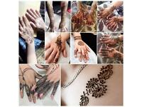 Henna (choice of black or red henna)