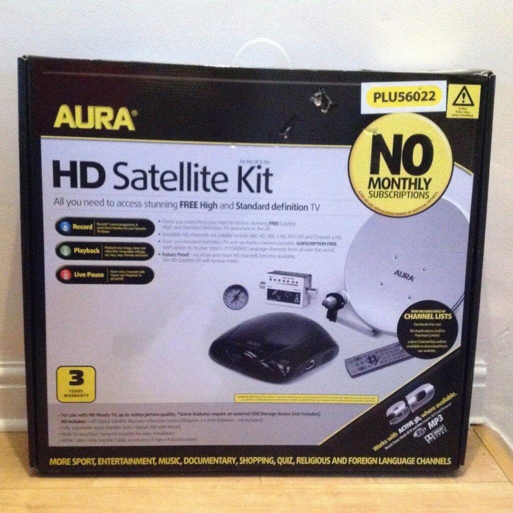 Aura HD Satelitte Kit-PLU56022 | in Mountain Ash, Rhondda Cynon Taf |  Gumtree