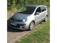 NISSAN NOTE 1.6 PETROL, WITH FULL YEAR MOT ,FULL SERVICE HISTORY