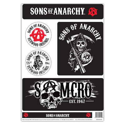 1941007607 CafePress Sons Of Anarchy Rectangle Bumper Sticker Car Decal