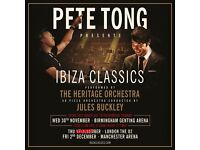 4x Pete Tong Ibiza Classics standing tickets, Manchester Arena, Friday 2nd December