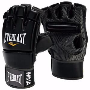 Everlast 4402B Kickboxing Gloves - Black ***READ***