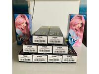 Brand new pink hair dye
