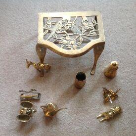 Brass ornaments