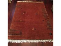 Indo Gabbeh Pure New Wool rug from Ikea