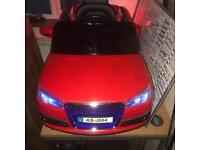Audi Childs electric car