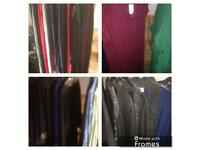 Clothes shop clearance lot