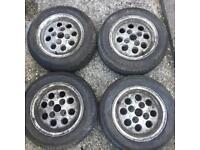 Ford Fiesta XR2 Alloy Wheels - 4x108 13inch Pepper Pots