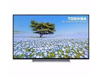 Toshiba 43U6763DB 43 Inch Smart LED TV 4K Ultra HD 4 HDMI