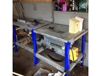 Metabo bench saws x2