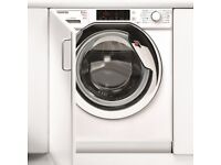 NEW Hoover HBWDO8514TAHC 8kg Wash 5kg Dry Integrated Built-IN Washer Dryer 1400-COLLECT OR DELIVERY