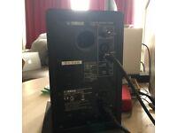 Yamaha HS5 Active Studio Monitors (Pair) White/Black