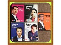 Jimmy Carr stand up DVD bundle