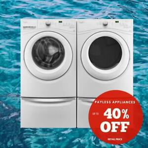 Whirlpool WFW75HEFW 5.2 cu.ft.Front Load Washer And YWED75HEFW Dryer Pair Sale