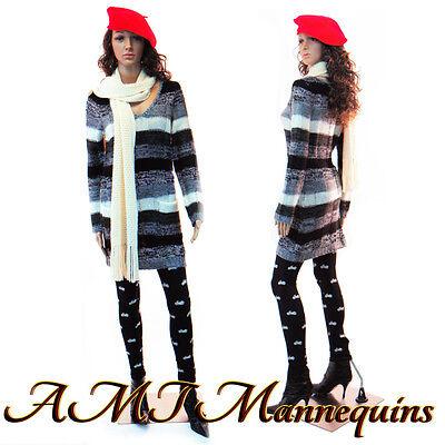 332435 Female Mannequin Displays Women Long Dressmanikin Maddy -f22wigs