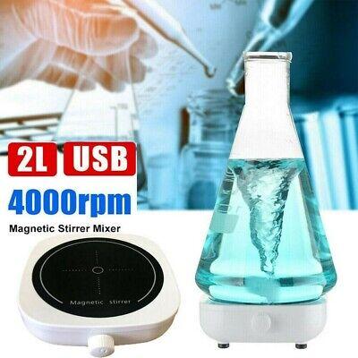 2l Mini Magnetic Stirrer Mixer Machine Stirring Capacity 0-4000rpm Laboratory