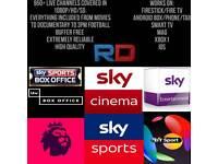 IPTV+VOD 10POUND A MONTH