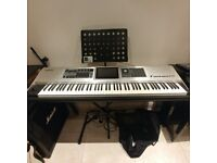 Roland Fantom G8 - Keyboard / Workstation / Synthesizer - 88 Keys Silver