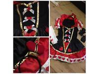 Woman's Queen of Hearts halloween costume