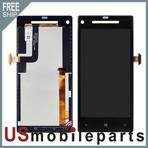 HTC Windows Phone 8X LCD Display Touch Digitizer Screen Glass Panel Assembly USA