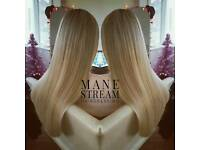 Hair Extensions Specialist. Premium Quality Hair, Expert fitting.