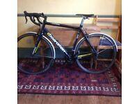 Boardman mens' road bike, large frame 55.5cm. Good condition. Bike shop serviced prior to sale.