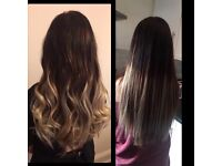 Hair extensions and fitting service