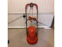 Flymo Mov and Vac hovermower ex con
