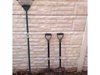 2 Garden Tools
