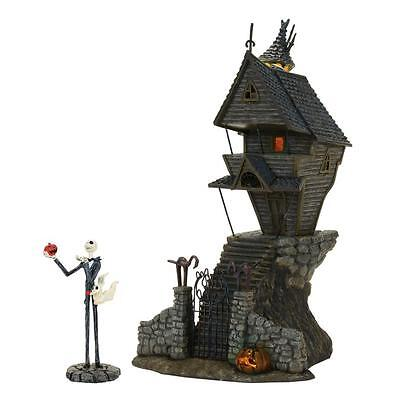 NEW Dept 56 Nightmare Before Christmas Jack Skellington's House Village 4058117 - Nightmare Before Christmas Halloween Village