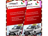 Driving lessons / from £20 female driving instructor