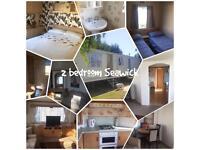 2 bedroom lovely family owned caravan