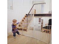 BabyDan flexible wall mounted safety gate system