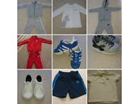 Boys kids clothes adidas nike lacoste Hugo boss tracksuit top trainers shoes