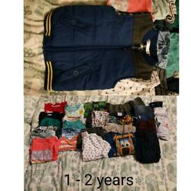 1 - 2 year boy bundle (30 pieces)
