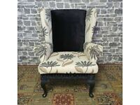 Fabric Wing back Chair